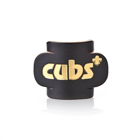 cubs-coloured-leather-woggles-black