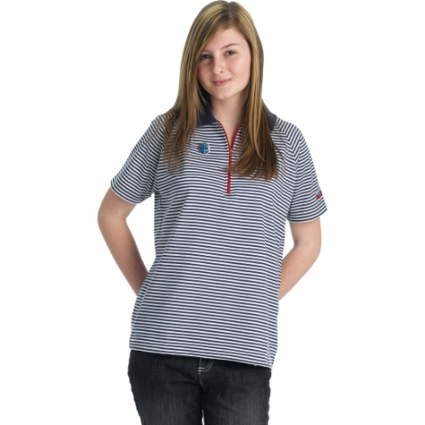 guides-striped-polo-size-42