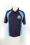 Island Free School Boys Sports Polo Navy/Cyclone