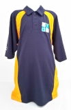 RA Boys Sports Polo Navy/Amber